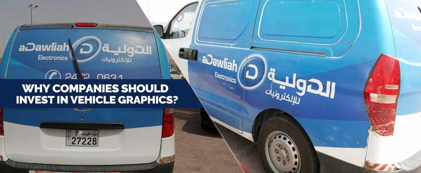 Why Companies Should Invest in Vehicle Graphics