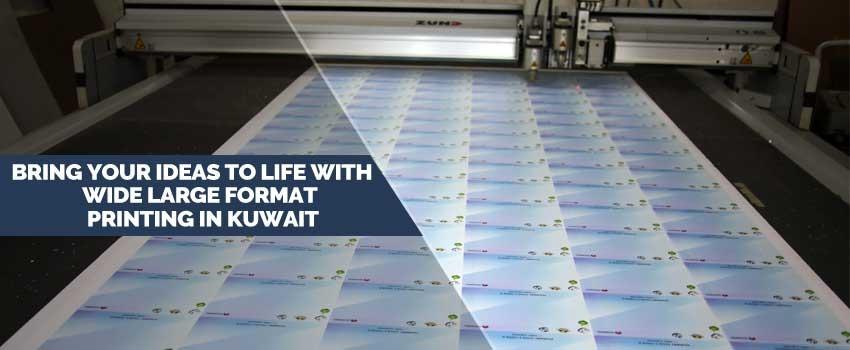 Large Format Printing in Kuwait