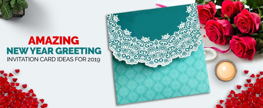 Amazing New Year Greeting Invitation Card Ideas