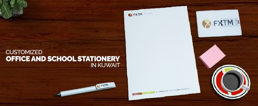 Customized Office and School Stationery in Kuwait