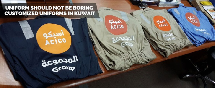 Customized Uniforms in Kuwait