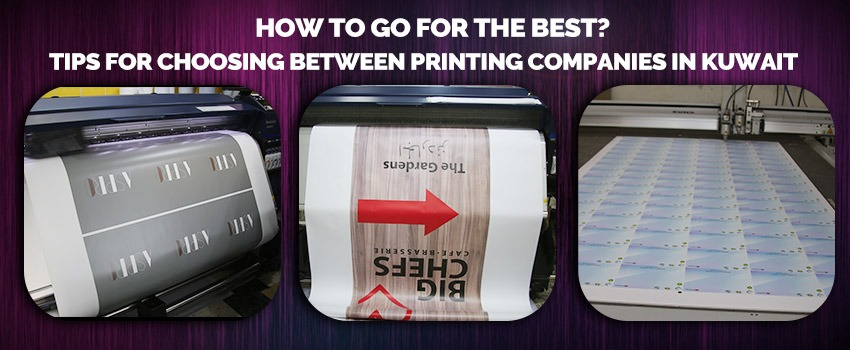 Choosing Between Printing Companies in Kuwait
