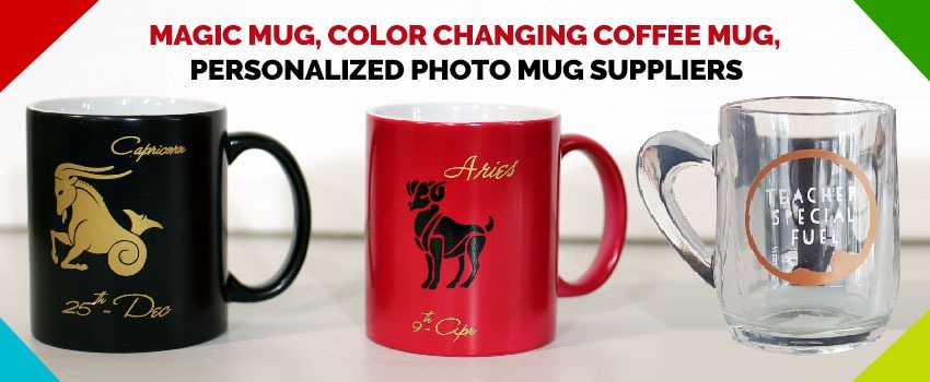 Magic Mug and Color Changing Coffee Mug