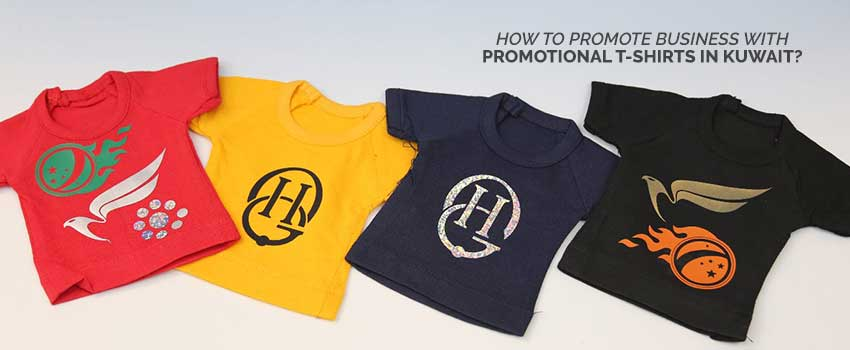 Promote Business with Promotional T shirts in Kuwait
