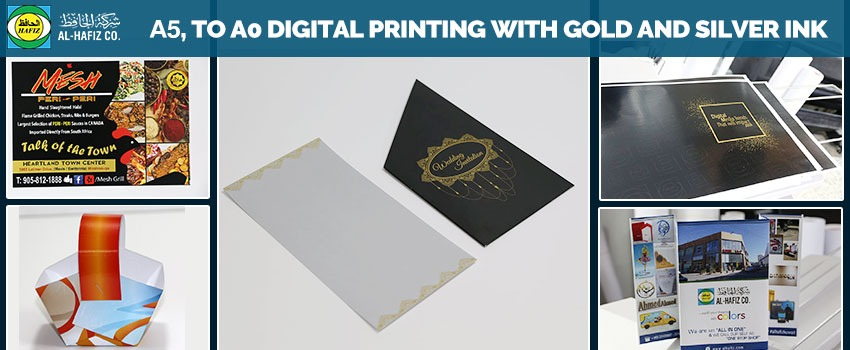A5 to A0 Digital Printing Kuwait