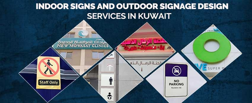 Indoor Signs and Outdoor Signage Design services