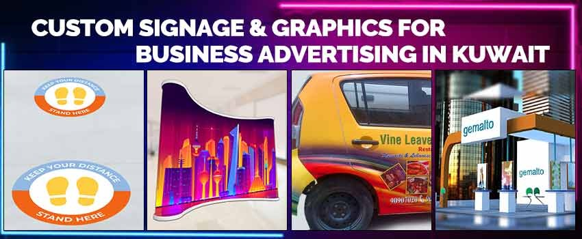 Custom Signage and Graphics for Business Advertising