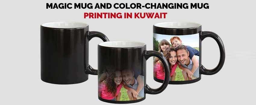 Magic Mug and color-changing mug printing