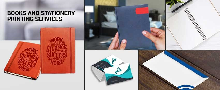 Books and Stationery Printing Services