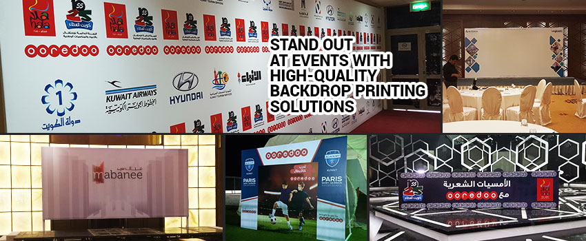 Quality Backdrop Printing Solutions