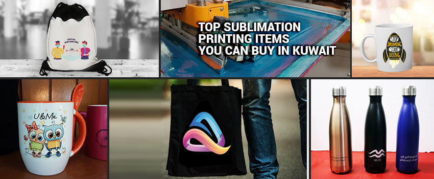 Sublimation Printing Items