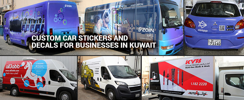 Car Stickers and Decals for Businesses
