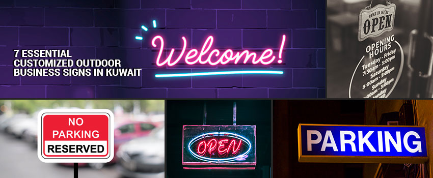 Essential Customized Outdoor Business Signs