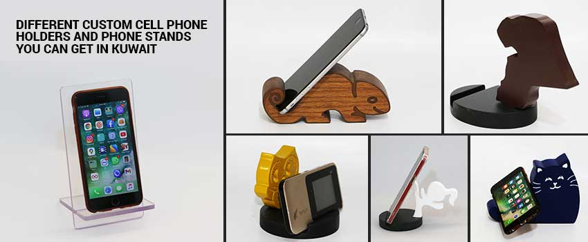 Different Custom Cell Phone Holders and Phone Stands
