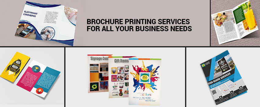 Brochure Printing Services for All Your Business Needs