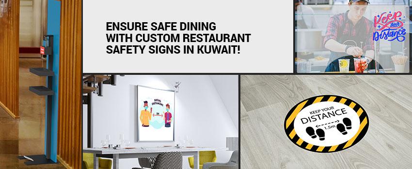 Custom Restaurant Safety Signs