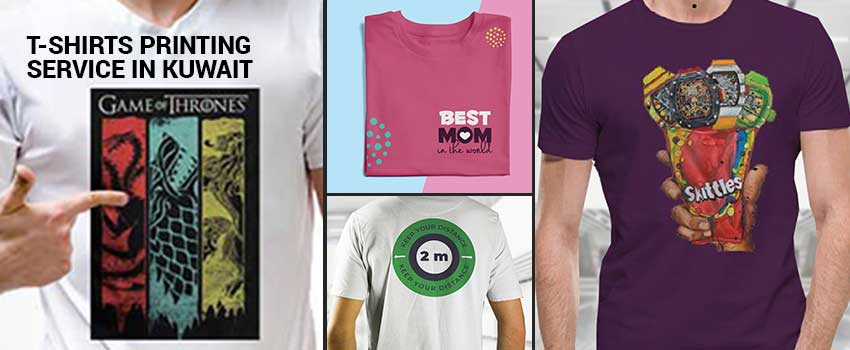 T-Shirt Printing Service in Kuwait