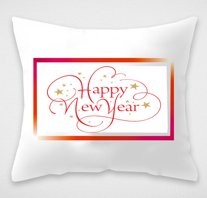 New Year Cushion Covers