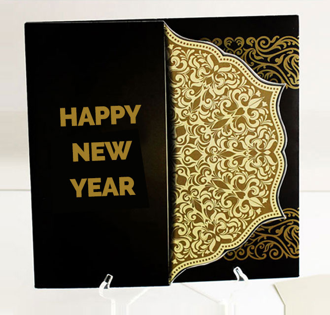 New Year Invitation Cards
