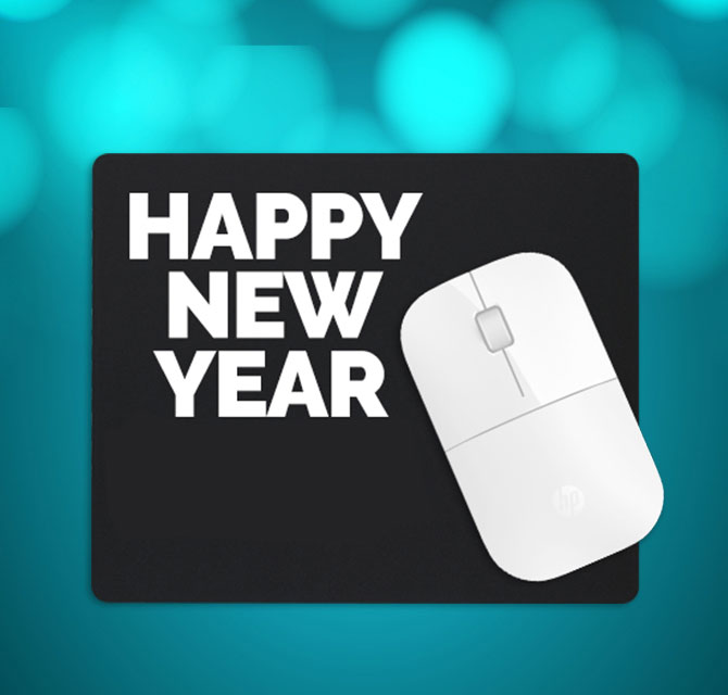 New Year 2021 Mousepads