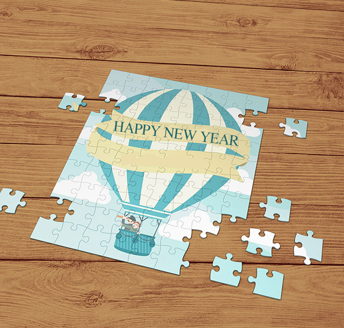 New Year Puzzle Making