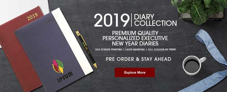 Al hafiz printing design centre kuwait new year personalized diaries 2019 a5 notebooks printing reheart Gallery